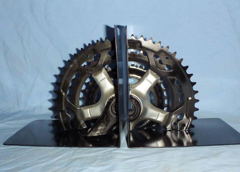 Name:  Bike Sprocket Book End 1.jpg